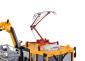 H0 Robel Gleiskraftwagen 54.22 WIEBE mit Prüfpantograph und Arbeitskorb, Funktionsmodell für Dreileitersysteme