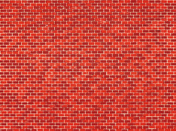 1 Brick wall single