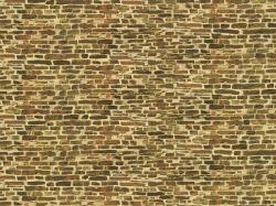 1 Dekorpappe Kalksteinmauer