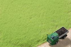 Grasfasern hellgrün 4,5 mm