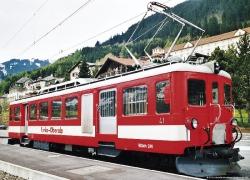 FO BDeh 2/4 44 rot mit weißem Band