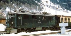 """RhB Ge 4/4 I 605 """"Silvretta"""" Universallok"""