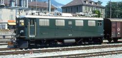 RhB Ge 4/4 I 606 Kesch Universallok NEM 651 6-pol.