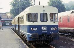 DB 634 607/614 Epoche IV, 2L-GS