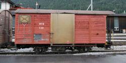 MOB Gk 556 gedeckter Güterwagen