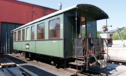 Öchsle 2076 Stg, ex RhB Personenwagen 2.Klasse