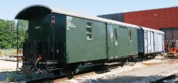 Öchsle 2041 Stg, ex RhB Personenwagen 2.Klasse