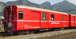 RhB D 4213 Packwagen rot