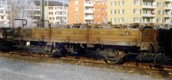 RhB Kk-w 7337 Niederbordwagen mit Aluwänden