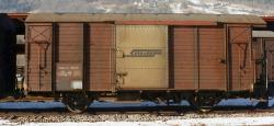 RhB Gbk-v 5545 Gedeckter Güterwagen