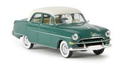 Opel Kapitän 1954, opalgrün/weiß, TD