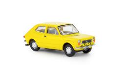 Fiat 127, gelb,
