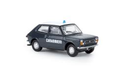 Fiat 127, Carabinieri,