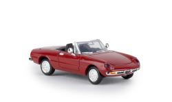 Alfa Romeo Spider Fastback, rosso corso, TD