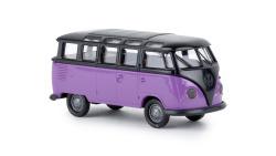 "VW Samba T1b schwarz/blaulila ""Economy"" neue Farbe"
