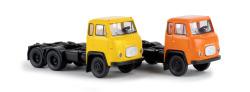 Scania LBS 76 3-axle SZM, yellow, orange assorted (SE)