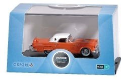 Ford Thunderbird 1956 rot H0
