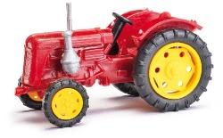 Traktor Famulus dunkelrot