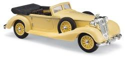Horch 853 Cabrio offen, Gelb
