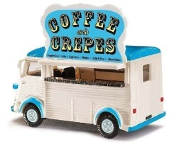 Citroen H, Coffe and Crepes