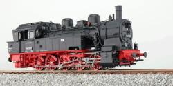 Dampflok, H0, BR T16.1, 94 1292, DR, Ep IV, schwarz, Vorbildzustand um 1971, LokSound, Raucherzeuger, Rangierkupplung, DC/AC