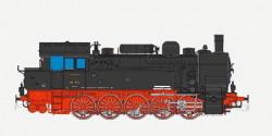 Dampflok, H0, BR T16.1, 94 535, DRG, Ep II, schwarz, Vorbildzustand um 1930, LokSound, Raucherzeuger, Rangierkupplung, DC/AC