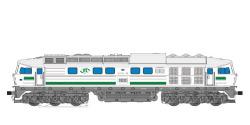 Diesellok, H0, BR 132, W 232-09, ITL Ep VI,silber, Vorbildzustand um 2010, LokSound, Raucherzeuger,  DC/AC
