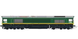Diesellok, H0, C66 Ascendos PB 15, grün, Vorbildzustand um 2012, LokSound, Raucherzeuger, DC/AC