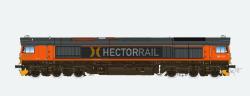 Diesellok H0, C66 HGK 9901, Ep V,  Vorbildzustand um 2000, Rot,  Sound+Rauch, DC/AC