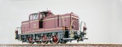 Diesellok, H0, V60, 261 660, altrot, DB Ep. IV, Vorbildzustand um 1971, LokSound, Raucherzeuger, Rangierkupplung, DC/AC