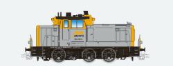 Diesellok, H0, BR V60, 362 448, schwarz-grün, AIX Ep. VI, Vorbildzustand um 2017, LokSound, Raucherzeuger, Rangierkupplung, DC/AC