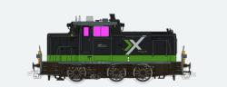 Diesellok, H0, BR V60, 360 573, grün, BE Ep. VI, Vorbildzustand um 2017, LokSound, Raucherzeuger, Rangierkupplung, DC/AC
