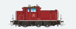 Diesellok, H0, BR V60, 363 810, weiß, DB VI, Vorbildzustand um 2018, LokSound, Raucherzeuger, Rangierkupplung, DC/AC
