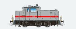Diesellok, H0, BR V60, V60.01, grün-weiß, SETG Ep. VI, Vorbildzustand um 2018, LokSound, Raucherzeuger, Rangierkupplung, DC/AC