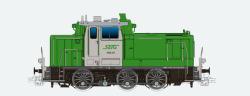 Diesellok, H0, BR V60, 360 608, orange-grau, Bocholter Ep. V, Vorbildzustand um 2003,LokSound,Raucherzeuger,Rangierkupplung,DC/AC