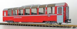 Panoramawagen BEX, Pullman IIm, RhB Api 1305, BERNINA rot, Ep. VI