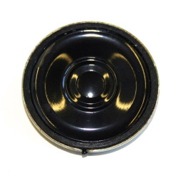 loudspeaker 32mm, rund, 100Ohm, without sound chamber