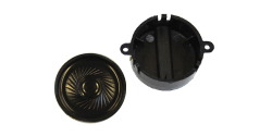 loudspeaker 40mm, round, 100 Ohm, with sound chamber