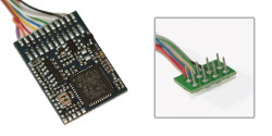 LokPilot V4.0 DCC, 8-pin plug NEM652, wire harness
