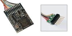 LokPilot V4.0 DCC, 6-pol. Stecker NEM651, wire harness