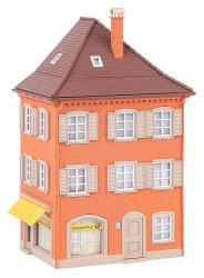 Corner house with post office