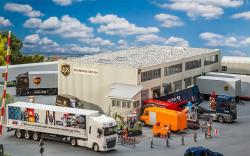 Logistics hall UPS