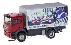 Truck MAN TGS Repair Shop Service Truck (HERPA/RIETZE)