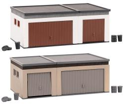 2 Double garages with driving parts