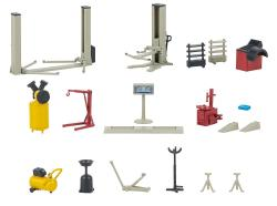 Car workshop equipment