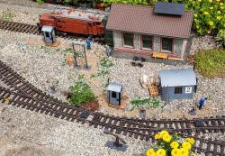 Train operation equipment set