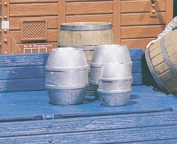 4 Beer barrels