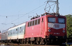 E Lok BR 141,AC SND.,Orientrot