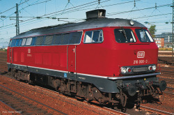 Diesellok BR 210 SND. rot