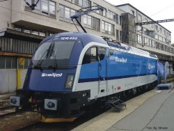 E-Lok Rh 1216 CD-Railjet